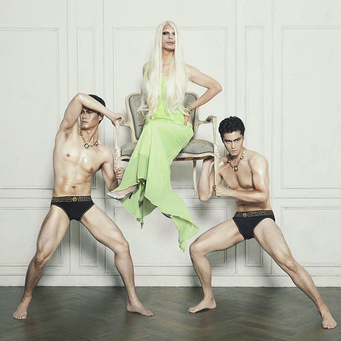 Homage to Donatella Versace