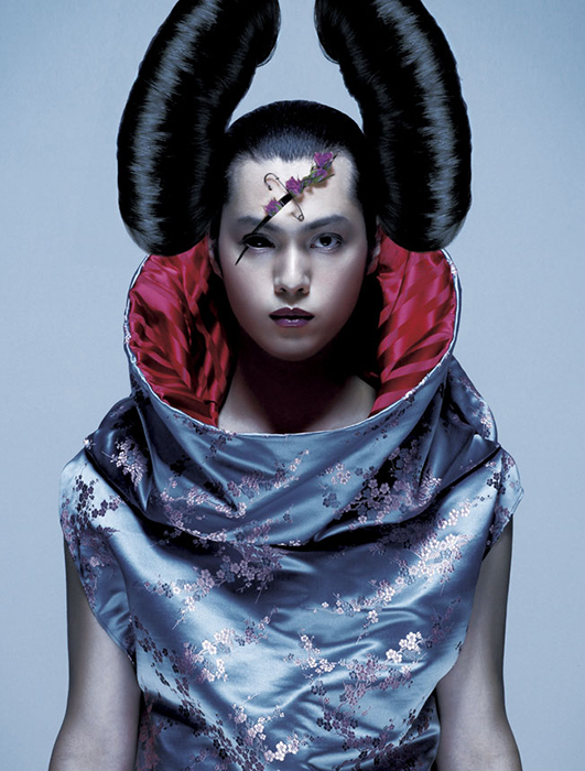 THE Parodist  Photographer homage  Nick Knight